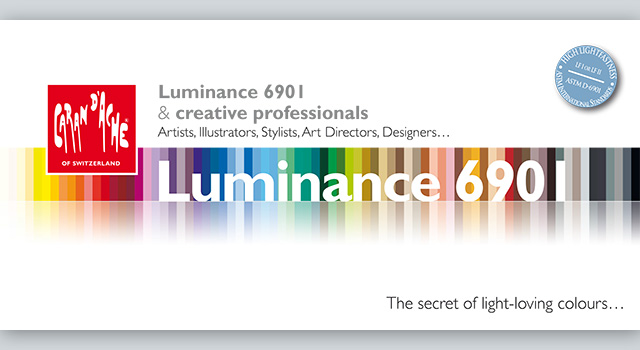 Brochure LUMINANCE Caran d'ache