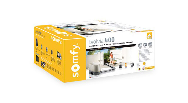 Packaging SOMFY